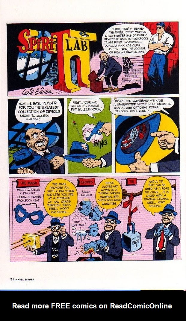Read online Will Eisner's The Spirit Archives comic -  Issue # TPB 26 (Part 1) - 41