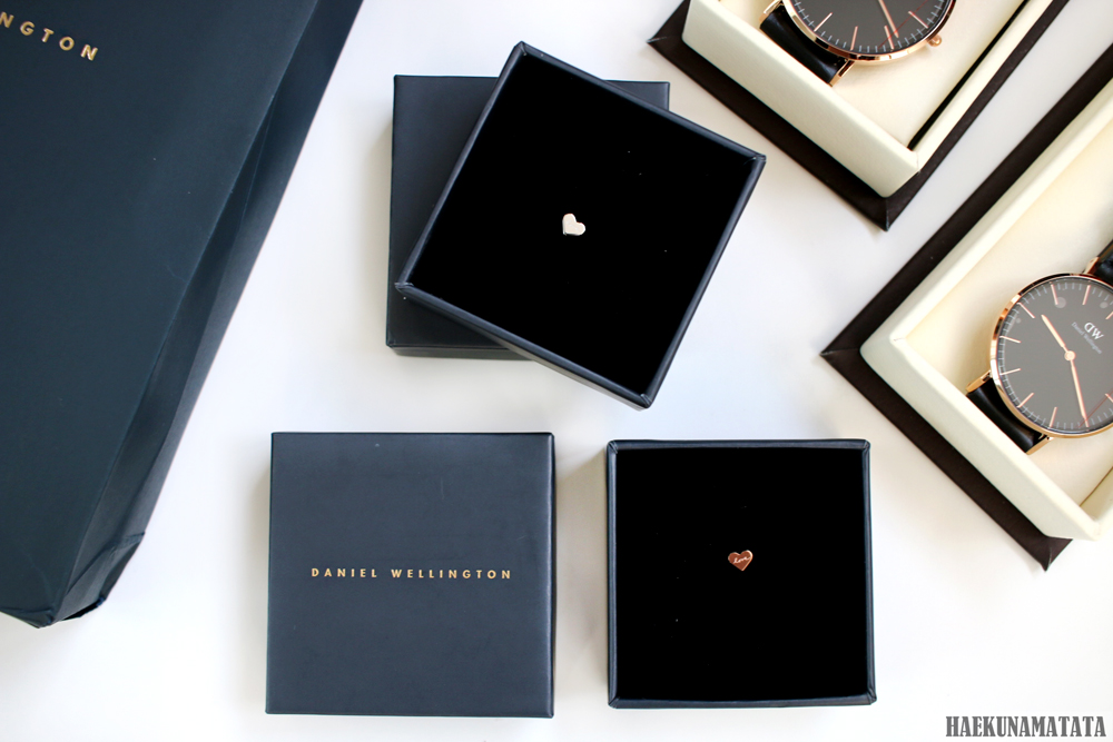 Daniel Wellington Valentine's Day Promotion Heart Charm