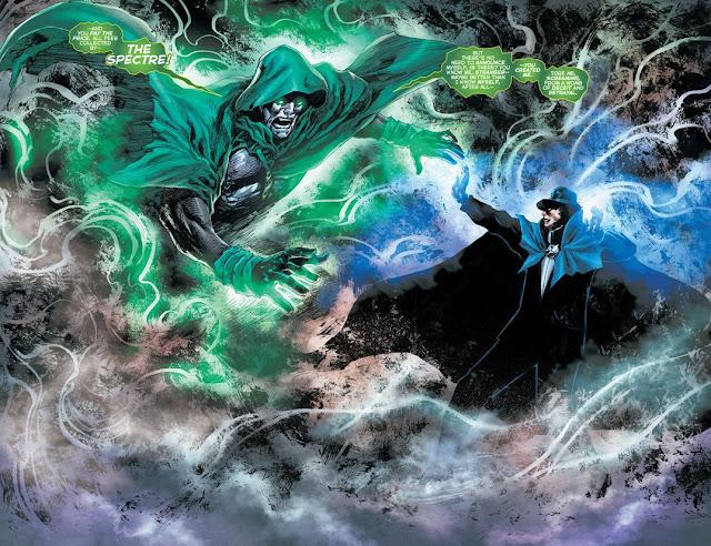 Siapa Phantom Stranger DC vs Spectre