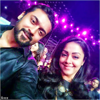 Surya - Jo At Filmfare 2017 Awards Pics