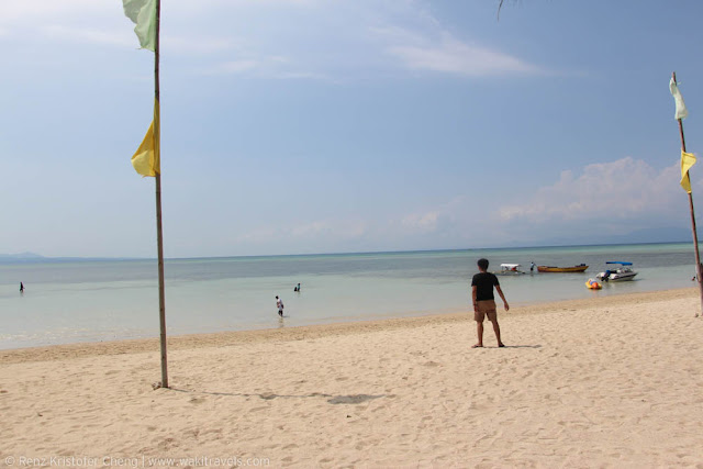 Doña Choleng Camping Resort in Cagbalete Island, Quezon