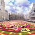 Бельгия: 12.08 — 15.08.2016, Огромный цветочный ковер