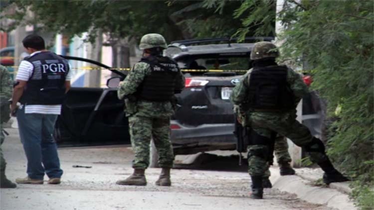 Federales matan a 5 sicarios mas del Toro del Cártel del Golfo en Tamaulipas