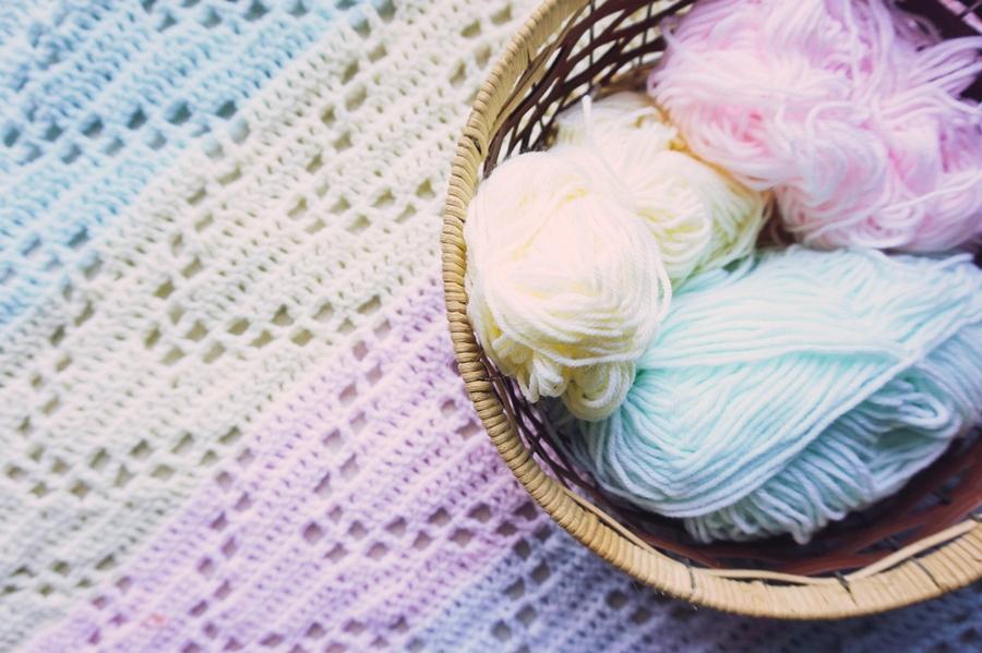 The Hopscotch Crochet Baby Blanket Free Pattern Little Things