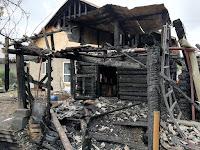 (ФОТО)Пожар г. Сухой Лог, ул. Красных Партизан.