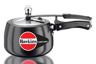 Hawkins Contura Hard Anodized Aluminium Pressure Cooker