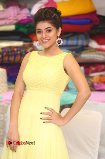 Actress Yamini Bhasker Latest Pictures in Yellow Long Dress  0044.JPG