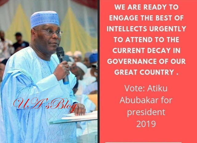 I Started Out As An Orphan Selling Firewood On The Streets Of Adamawa - Atiku Addresses Nigerians