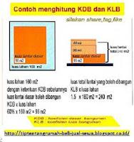 cara menghitung kdb dan klb