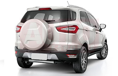 New 2016 Ford EcoSport SUV rear image