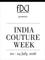 Couture Week 2016 Set to begin in New Delhi from 20 July 2016