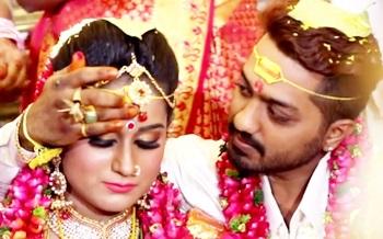 Telugu wedding Story Prakasmoorthy & Malar Vili