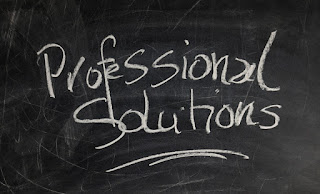 Professional Solutions written on Blackboard