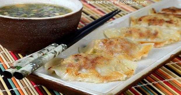 Pork And Shiitake Potstickers Recipe