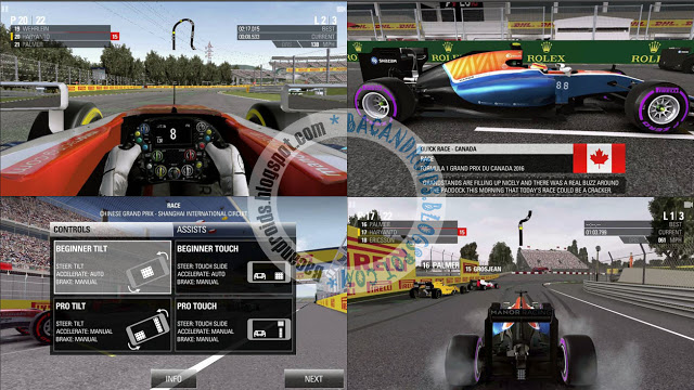 Update game F1 2016 Apk Data Obb v1.0.1 Latest Android