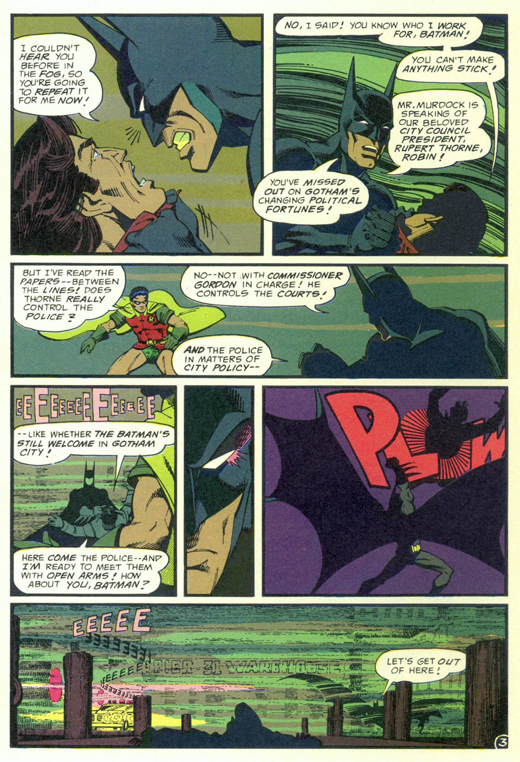Read online Shadow of the Batman comic -  Issue #3 - 6