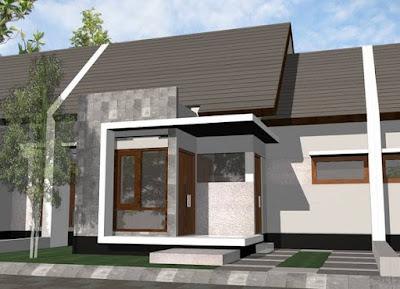 Koleksi Gambar Desain Rumah Minimalis 1 lantai Type 36