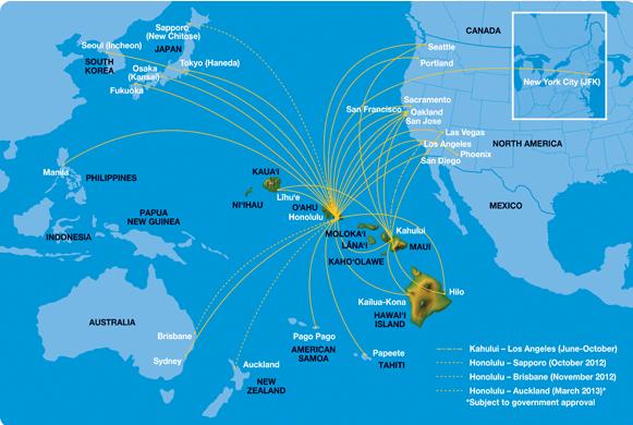 The Red Corner Hawaiian Holdings Air Transport