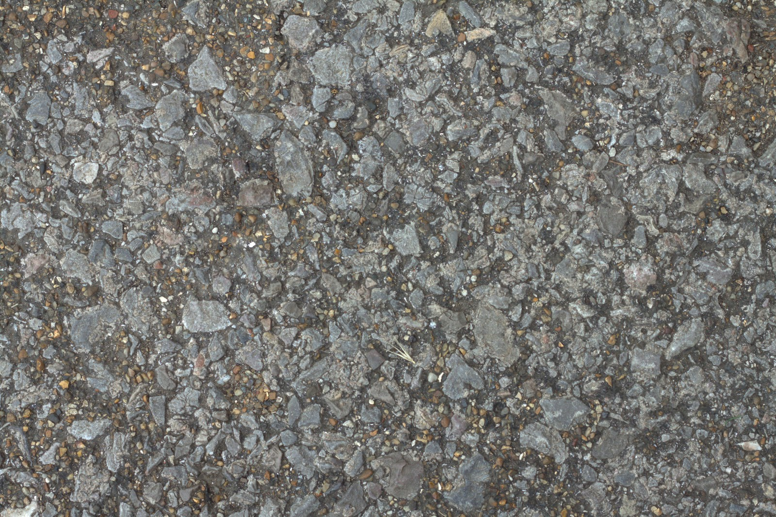 (PEBBLESTONE 3) concrete cobble ground gravel floor walkway texture
