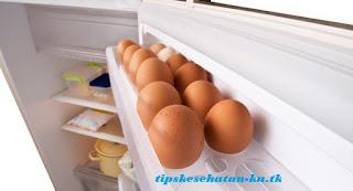 Efek Negatif Telur Dalam Kulkas