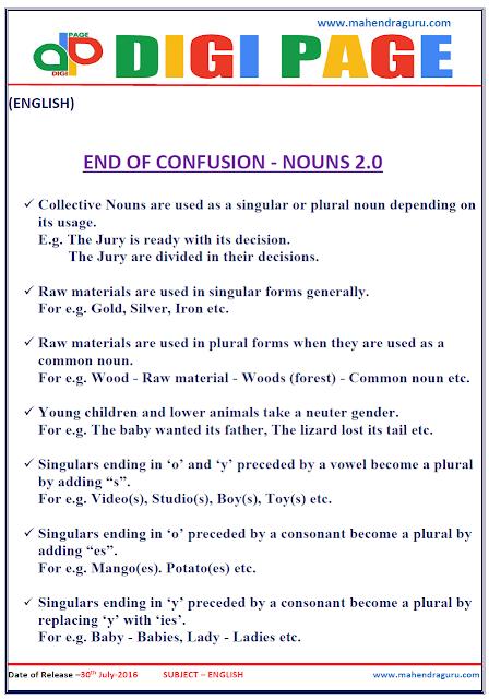 Digi Page-End of Confusion (Noun)
