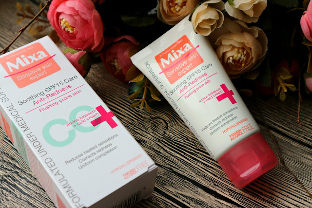 Mixa Anti-Redness CC крем SPF15