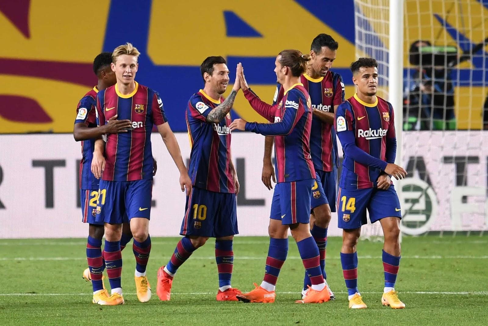Barcelona, con gol de Messi, goleó al Villarreal en su debut