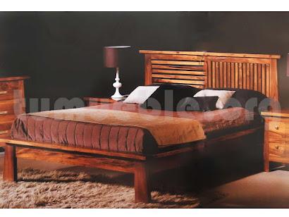 cama madera teca 4158
