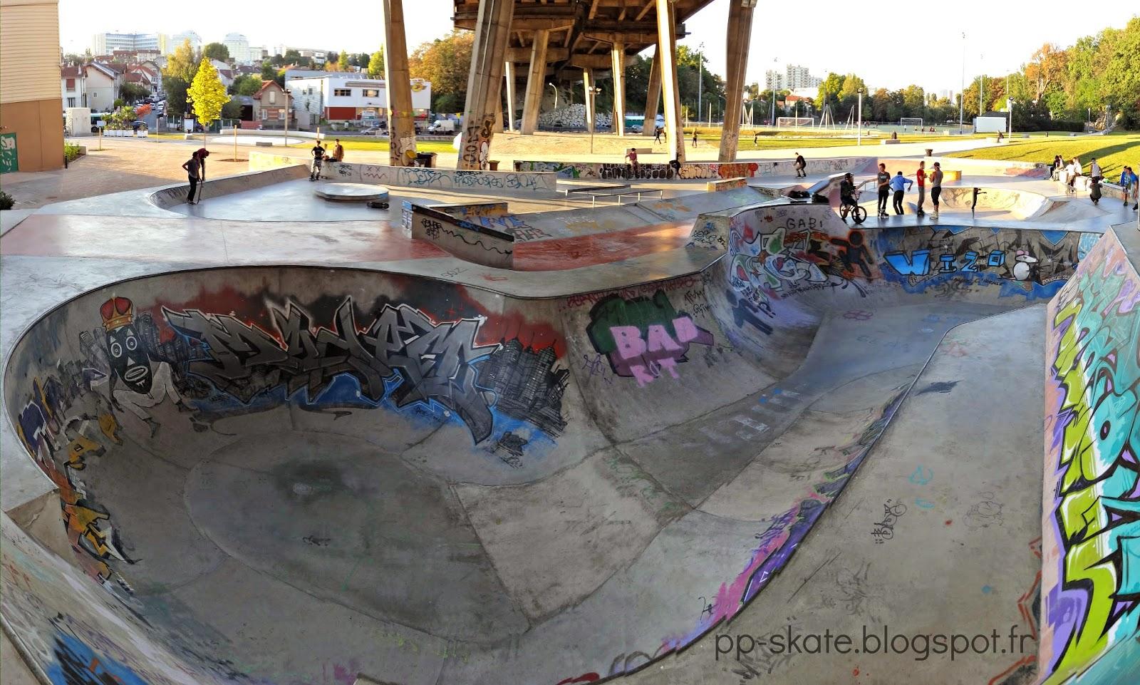 skatepark Arcueil Cachan