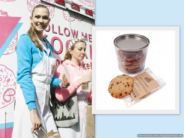 karlie kloss perfect 10 cookie