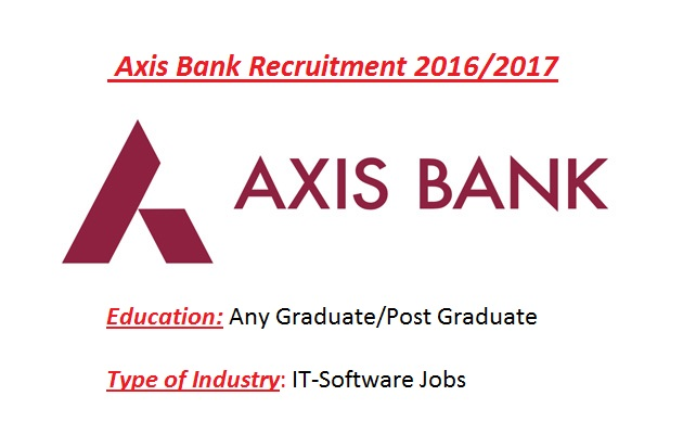 career in axis bank for freshers