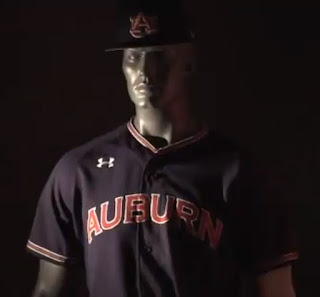 auburn baseball uniforms 2018
