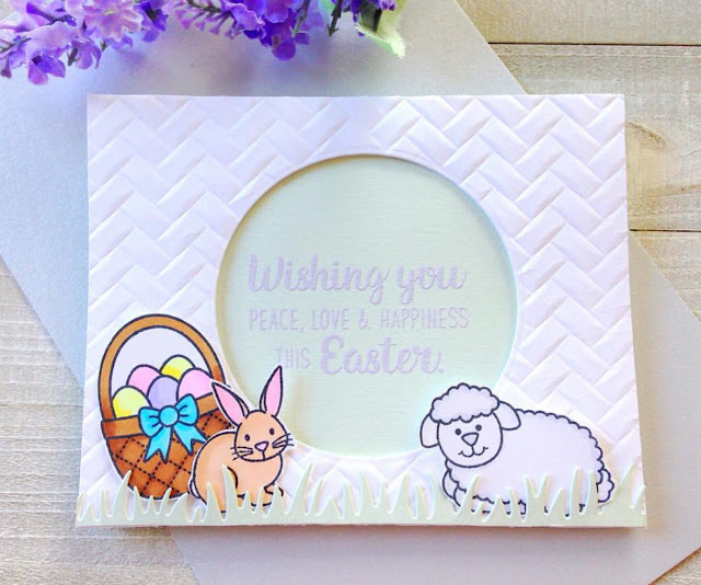 Sunny Studio Stamps: Easter Wishes Customer Card Share by Heidi