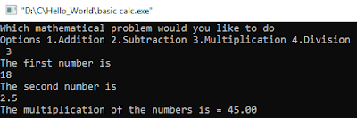 C Programming Language Examples