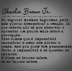 Baixo Astral Eu Dispenso Charlie Brown Jr Só Os Loucos Sabem