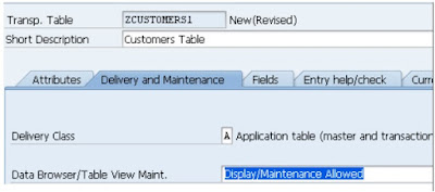 SAP ABAP - Tables