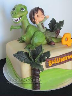 dino party cake