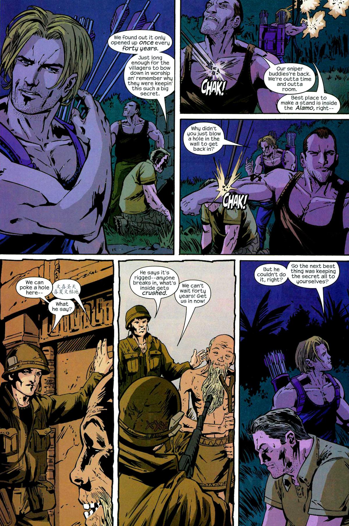 Hawkeye (2003) Issue #5 #5 - English 19
