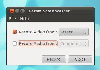 A Simple Screen Recorder for Ubuntu: Kazam