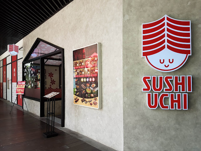 【森美兰美食】Sushi Uchi Mesa Mall @ Nilai   平价好吃的日式餐点