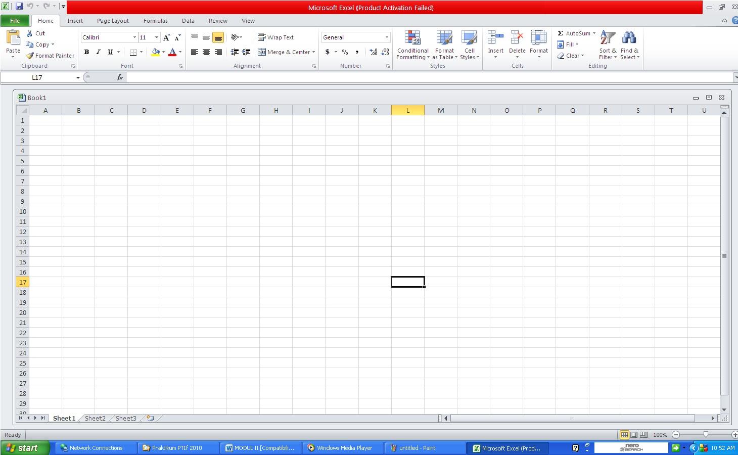 Ade Bloger Contoh Lembar Kerja Microsoft Excel