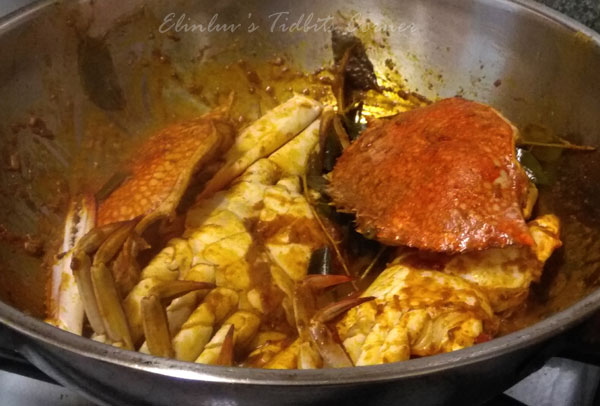 Elinluv S Tidbits Corner Simple Dry Curry Crabs