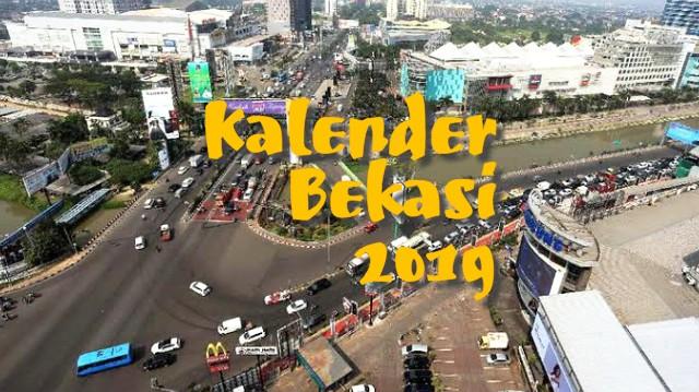 Kalender keren kegiatan kota bekasi