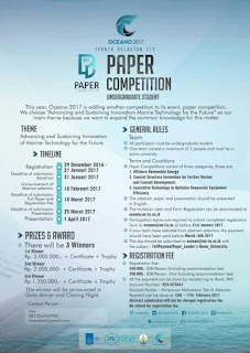 OCEANO 2017 : PAPER COMPETITION