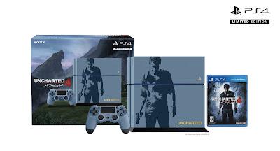 Uncharted 4 PS4 Bundle Imagens