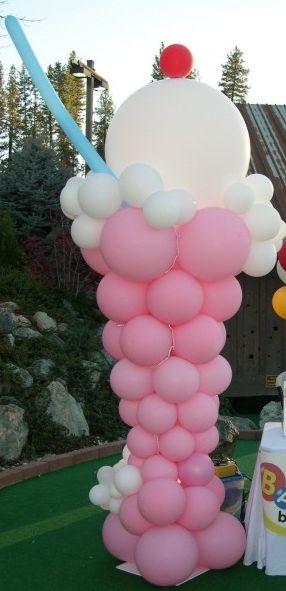 Ice Cream Balloon