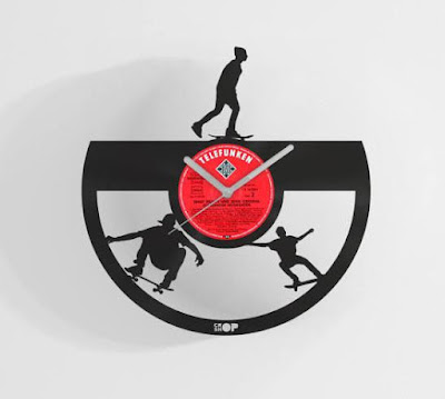 Skateboarding Wall Clock