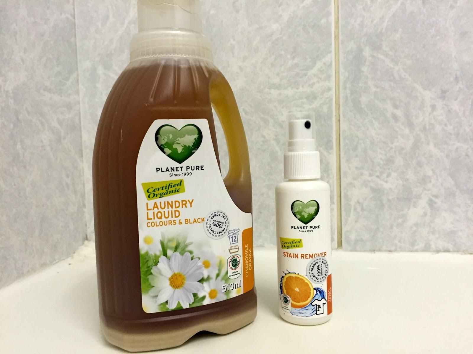 Planet Pure Organic Laundry Liquid
