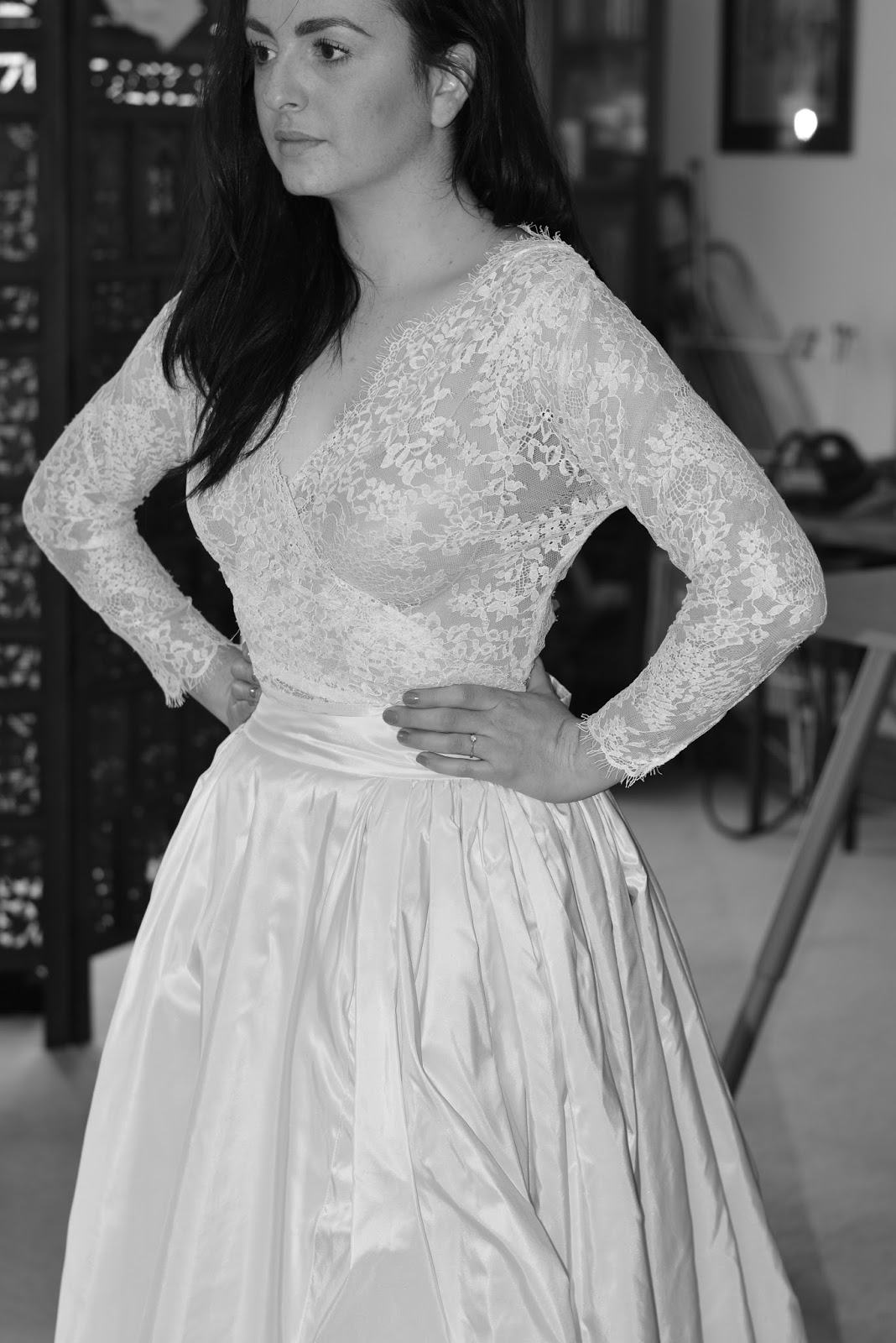 Kim\'s Bespoke Wedding Dress – ALEXANDRAKING