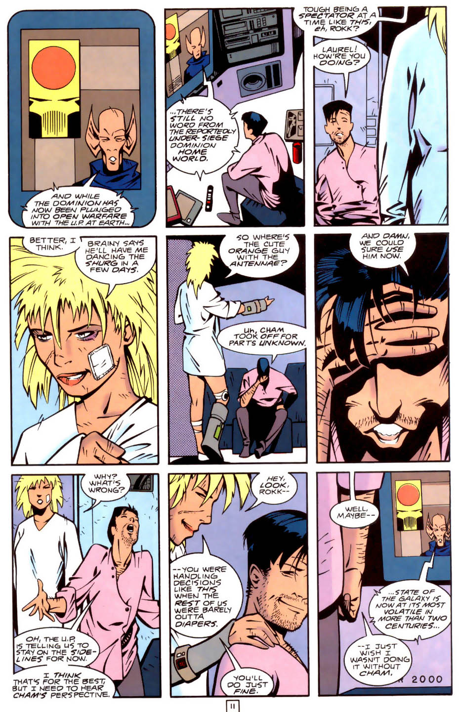 Legion of Super-Heroes (1989) 34 Page 11